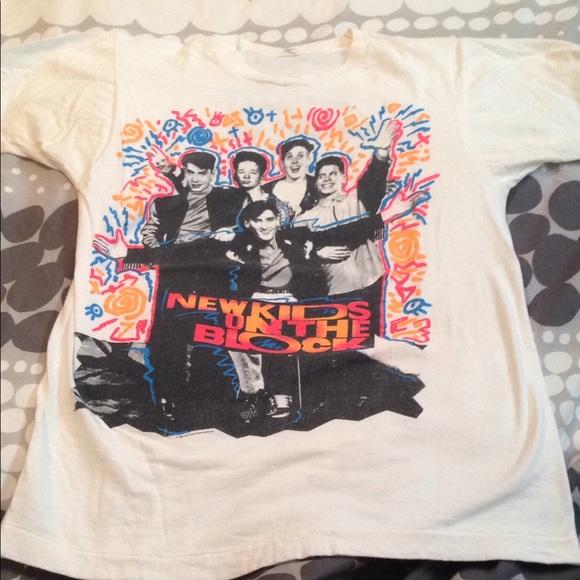 92ff1aa2a Tops | Vintage Nkotb New Kids On The Block Shirt | Poshmark